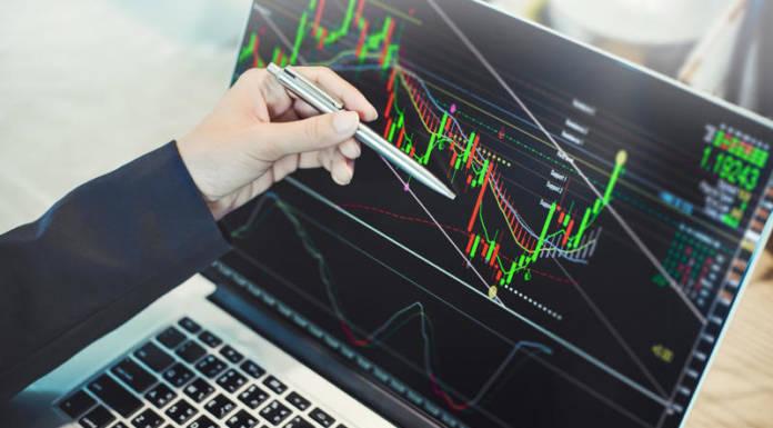Wykresy i kursy na rynku walutowym